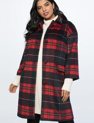Tartan Plaid Coat