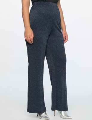 Sparkle Pull On Wide Leg Pant
