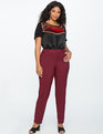 Kady Fit Double-Weave Pant Zinfandel