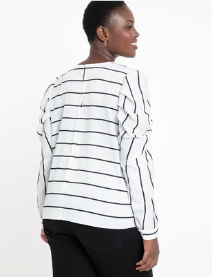 Drape Long Sleeve Top
