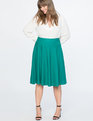 Ponte Circle Skirt Cadmium Green