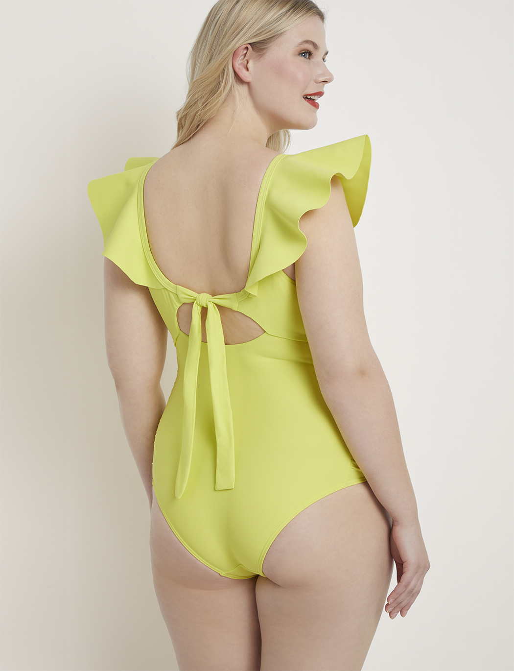 Drama Ruffle One Piece Swimsuit