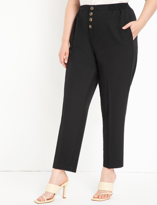 Button Fly Detail Pant