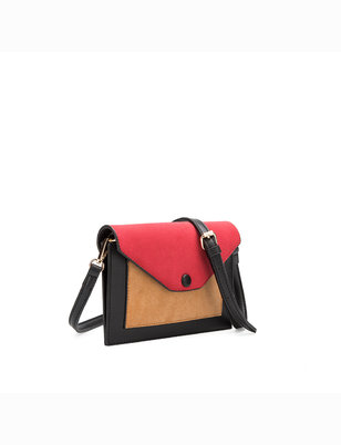 Colorblocked Crossbody