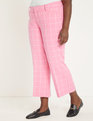 Windowpane Trouser Pink + White Windowpane
