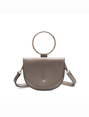 Metal Ring Handbag