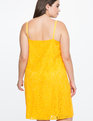 Embroidered Lace Slip Dress CITRUS