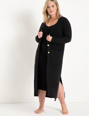 Long Lounge Sweater Cardigan