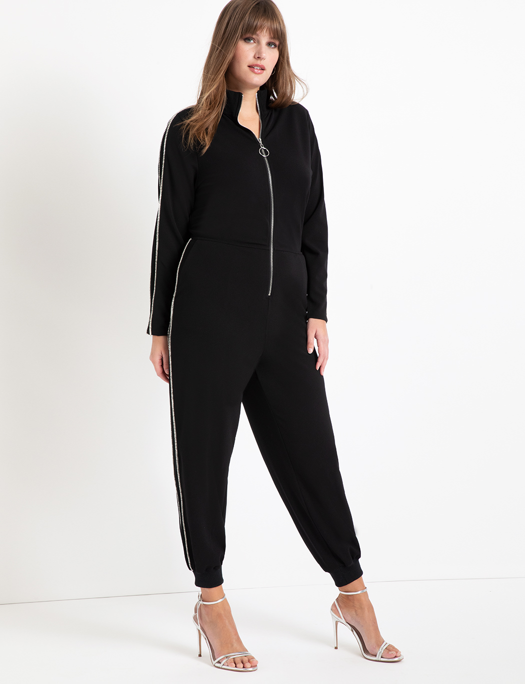 Jumpsuit with Rhinestones