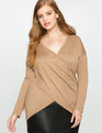 Kelsey Cross Front Sweater Toffee