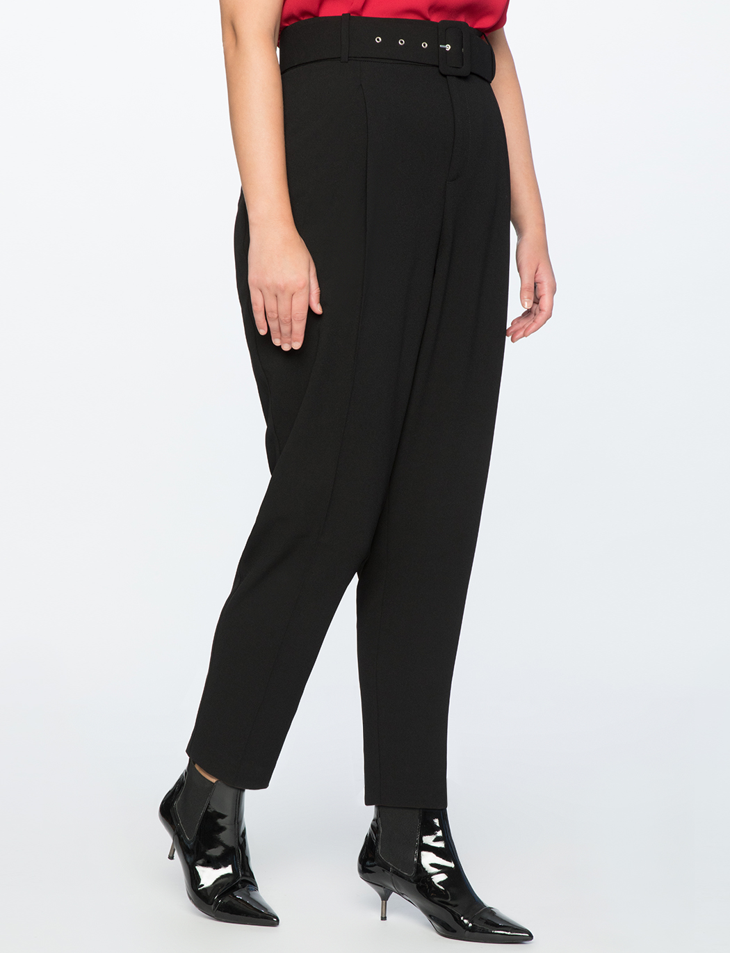 High Waisted Trouser with Belt