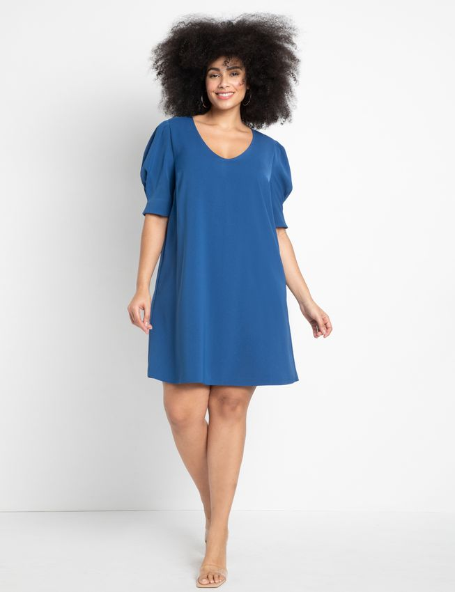 Puff Sleeve Tee Dress
