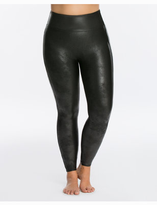 SPANX Shaping Faux Leather Leggings