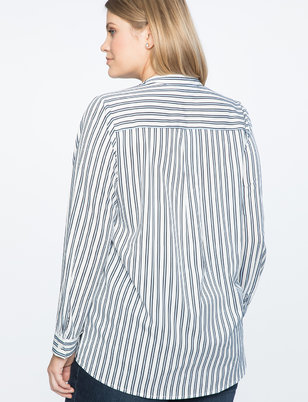 Pleated Detail Tunic