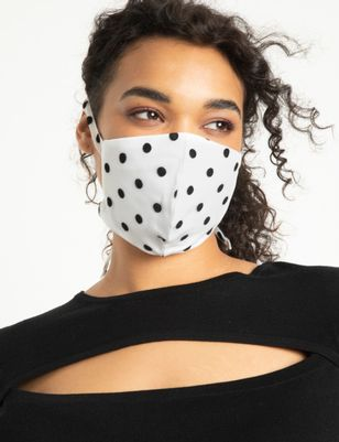 Polka Dot Mask FINAL SALE