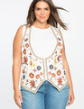 Studio Embroidered Vest Whitetail