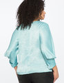Draped Sleeve Blouse SPEARMINT