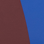 Mazarine Blue and Burgundy