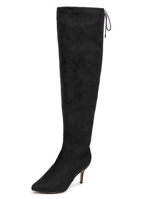 Over the Knee Faux Suede Boot