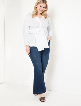 Goldie High Rise Flare Leg Jean