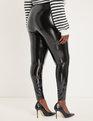 Latex Legging Black