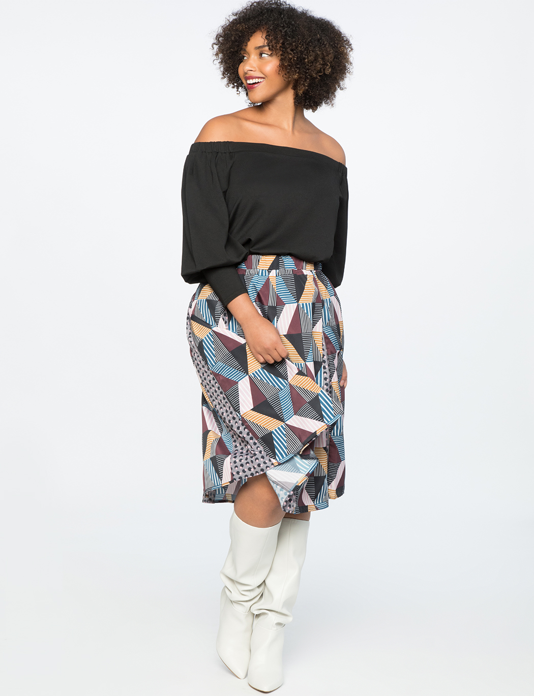 Off the Shoulder Puff Sleeve Top