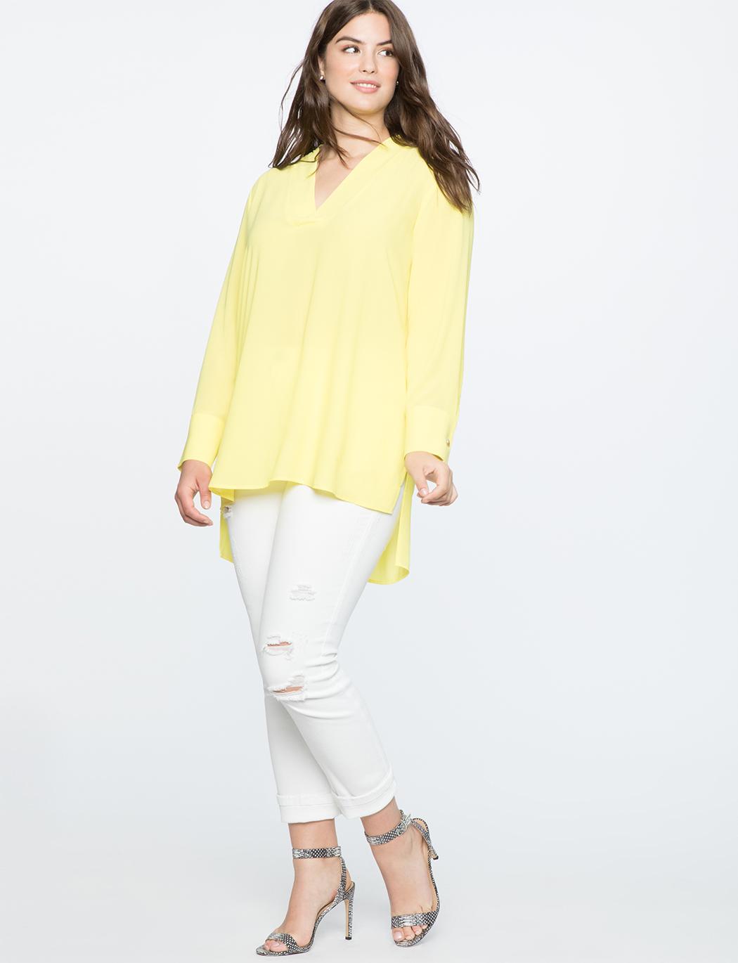 Easy V Neck Tunic