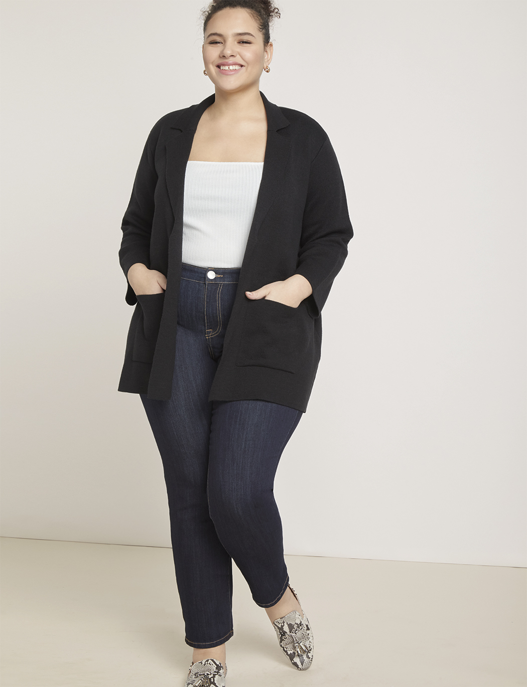Essential Blazer Cardigan