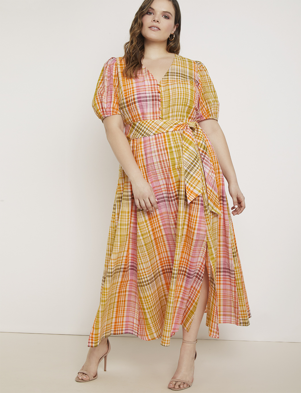 Puff Sleeve Maxi Dress | Women\'s Plus Size Dresses | ELOQUII