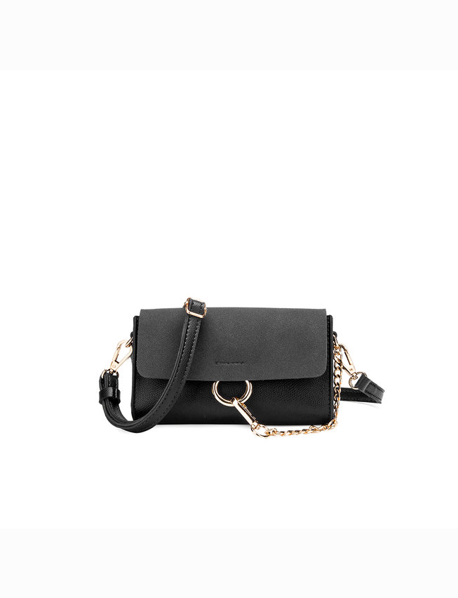 Crossbody with Chain Detail