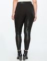 Metallic Leggings Black