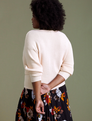 ELOQUII Elements Cropped Sweater
