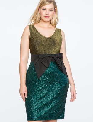 Green Cocktail Dress for Women