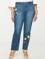 Studio Embroidered Jeans LIGHT WASH