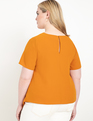 Knot Front Top Pumpkin Spice