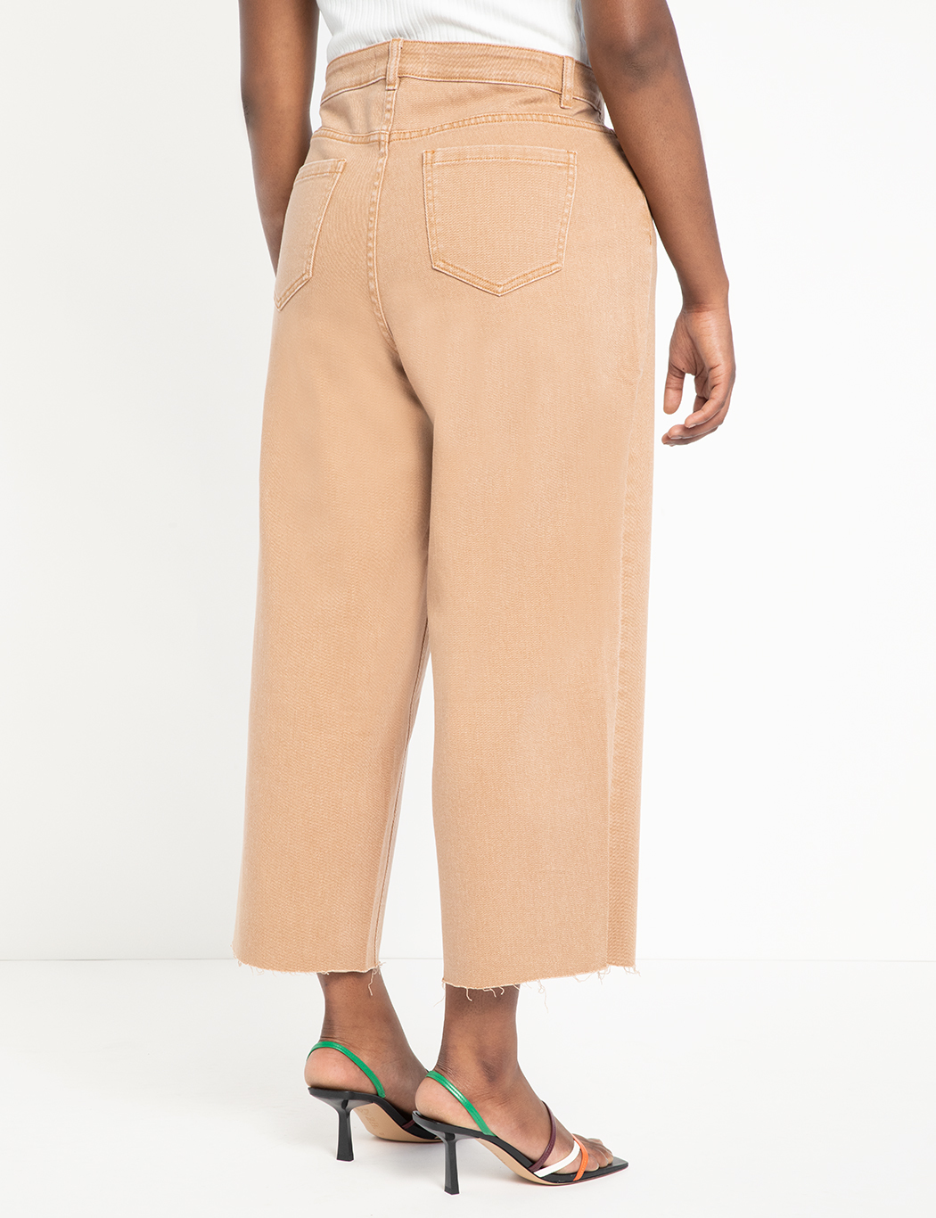 Neutral Wide Leg Jean