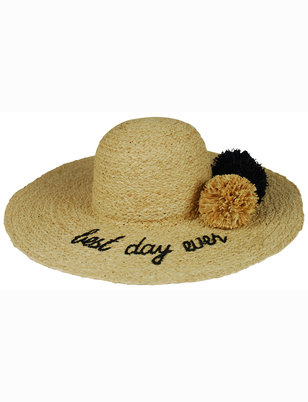 Hat Attack Best Day Ever Sunhat