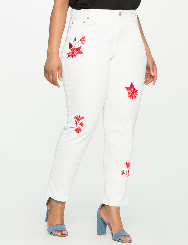 Studio Embroidered Jeans