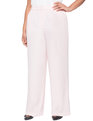 High Waisted Wide Leg Pant Peachy Rose