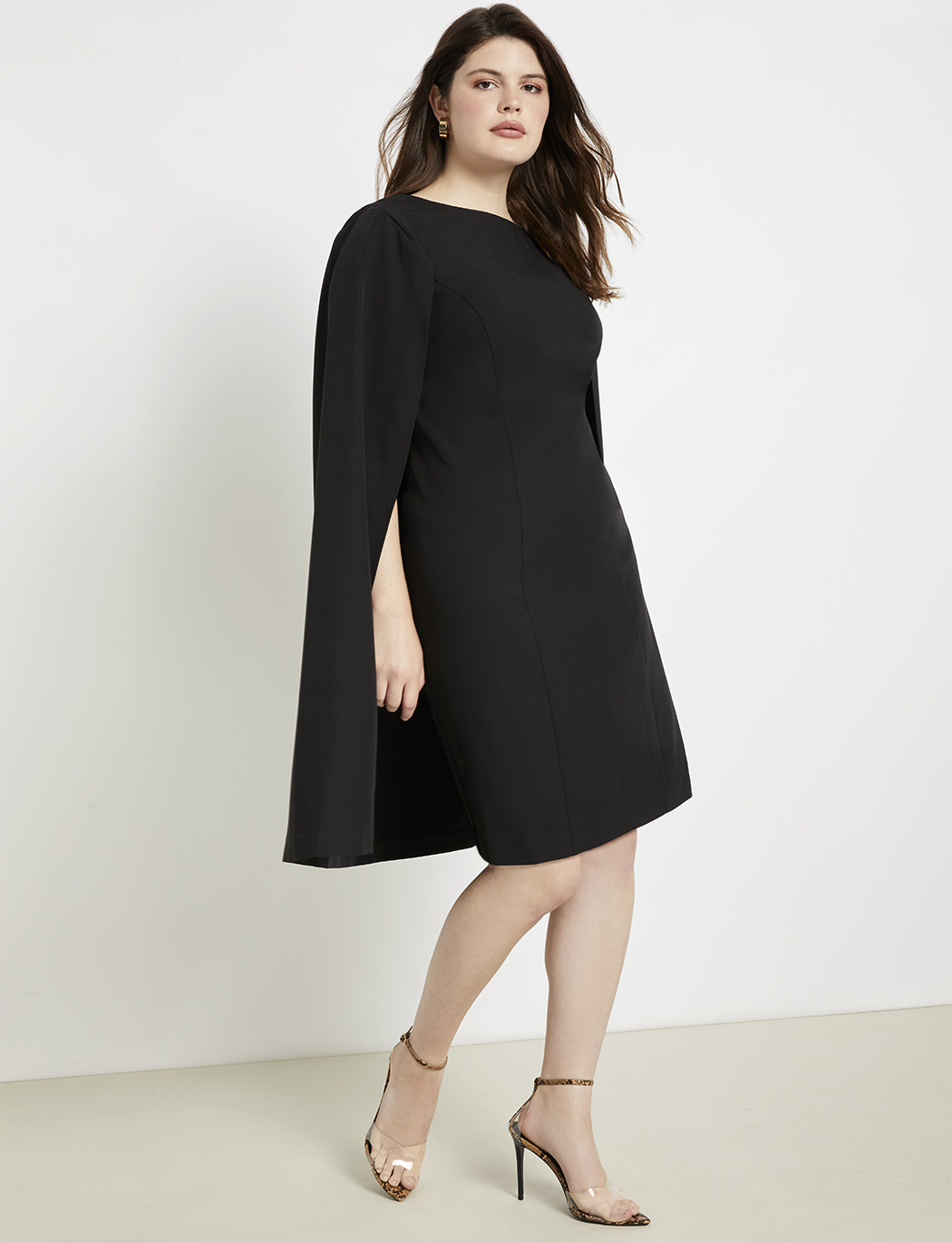 Cape Dress | Women\'s Plus Size Dresses | ELOQUII
