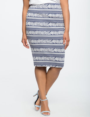 Textured Column Skirt