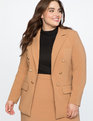Double Breasted Blazer Camel