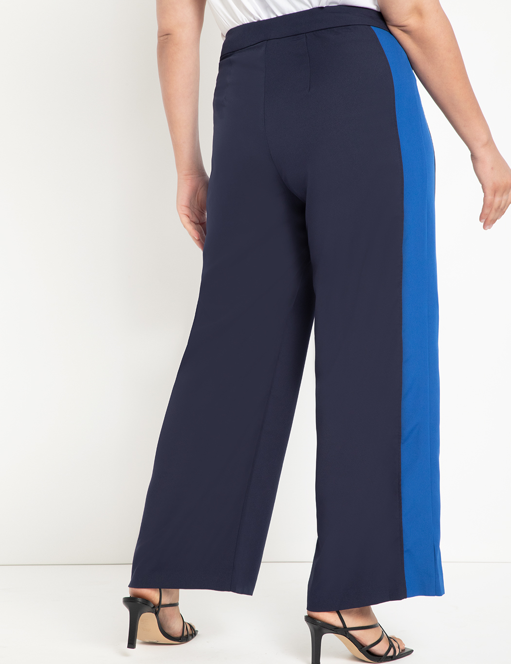 Flare Leg Trouser with Contrast Trim
