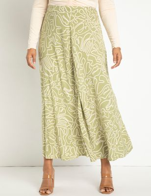 Maxi Skirt with Seam Detail