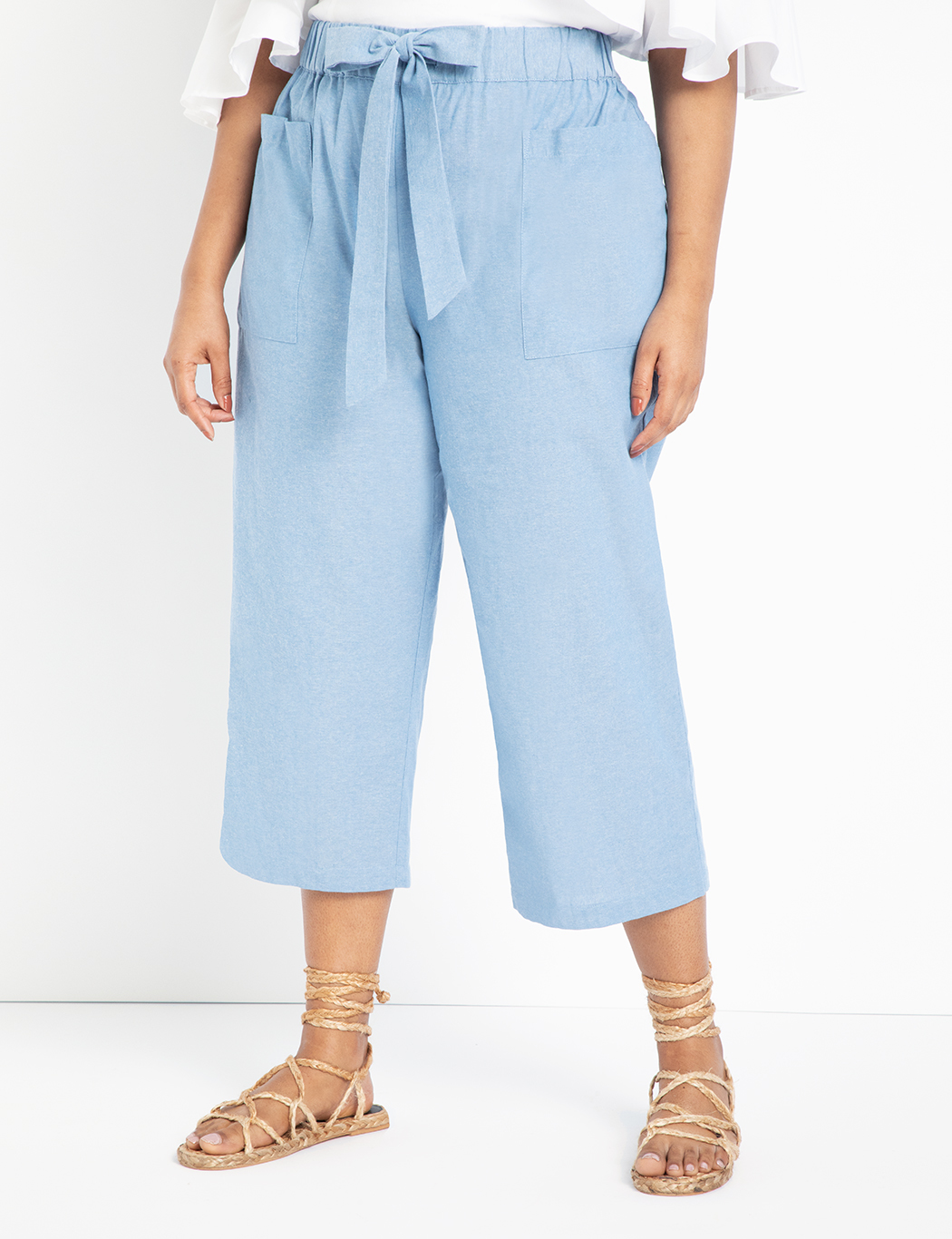 Easy Chambray Pant