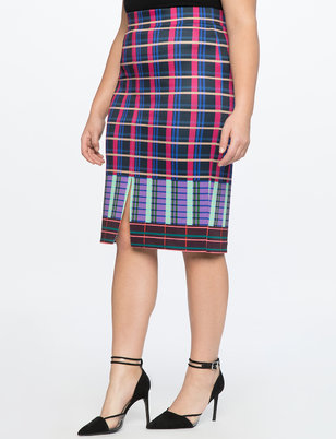 Column Skirt With Slit