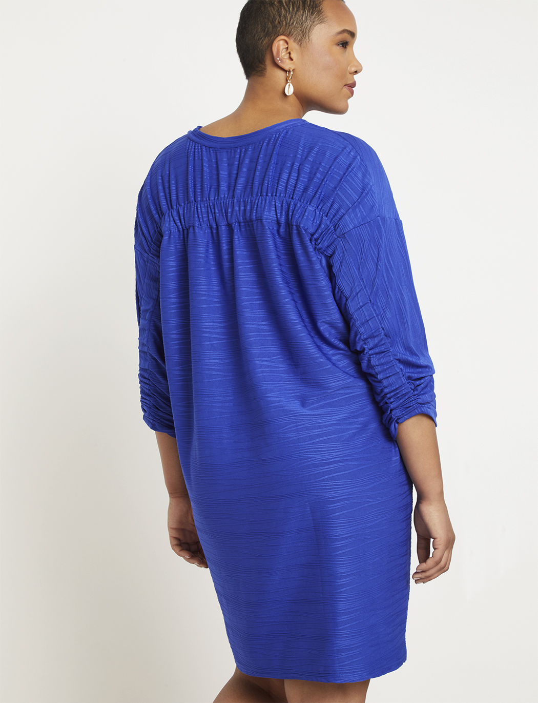 Easy Dress  with Ruched Back