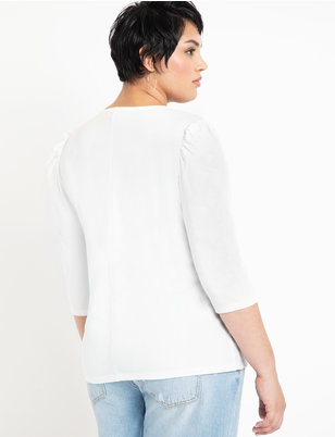 Dramatic Puff Sleeve Tee