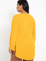 Mandarin Collar Tunic Gold