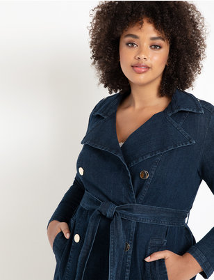 Denim Trench